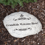 Personalized Garden Stone for Grandma!