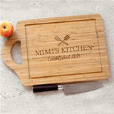 Personalized Cutting Board for Grandma's Kitchen