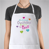 Personalized Apron for Grandma - God Gave Me The Best!