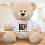 Personalized Teddy Bear for a Sweet Child