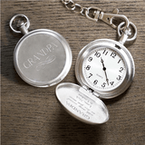 Personalized Pocket Watch for Grandpa