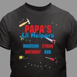 Personalized T-Shirt - Grandpa's Lil Helpers