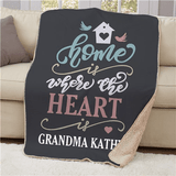 Personalized Sherpa for Grandma's Home