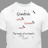 Personalized T-Shirt for a Musical Grandma