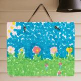Grandkid Artwork Slate Plaque for Grandma