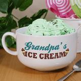 """Personalized Grandpa's """"Ice Cream Bowl"""""""