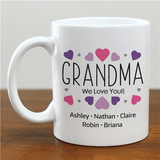 Personalized Mug with Message for Grandma