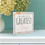 "Personalized Sign for the ""World's Greatest Grandma"""