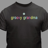 Personalized Super Soft & Colorful T-Shirt for Grandma