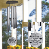 Personalized Wind Chimes In Memory Of A Faithful Pet