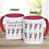 """Personalized """"Grandma's Deer Ones"""" Mug"""