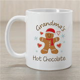 "Personalized ""Grandma's Hot Chocolate"" Mug"