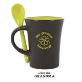 My Greatest Blessings Call Me Grandma Mug with Spoon