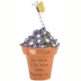 I Love Mom Flowerpot