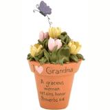 Cute flowerpot just for Grandma.