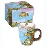 Beautiful boxed mug for your favorite grandma, says I Love You.