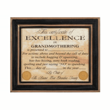 Grandmothering Certificate of Excellence