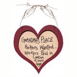 Heart Plaque for Grandma