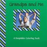 Grandpa and Me Keepsake Coloring Book for your special grandchild.