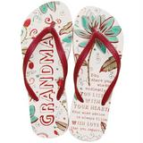 Colorful Flip Flops for Grandmother
