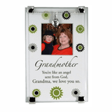 Beautiful glass frame for grandmother.