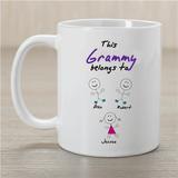 Personalized Mug - This Grandma Belongs To