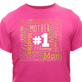 #1 Mother Hot Pink T-Shirt