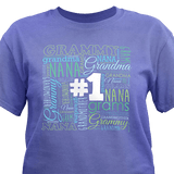 #1 GrandMother T-Shirt