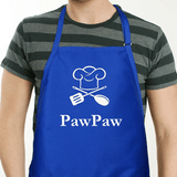 Personalized Chef Apron For Him - Blue