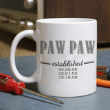 Personalized Mug for an Established Grandpa