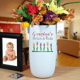 Vase, Grandma's Petals & Buds