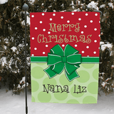 Christmas Garden Flag, personalized present for the perfect gift.