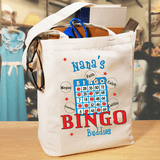 Canvas tote for a bingo playing grandma!