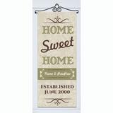 Personalized Door Banner - Home Sweet Home
