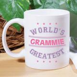 White ceramic mug for the World's Greatest Grandma!