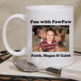 Personalized Photo Cup for Grandpa.