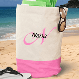 Personalized Embroidered Duffle Bag for a Groovy Grandma!