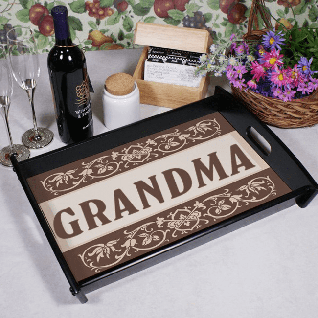 Personalized Serving Tray for Grandma
