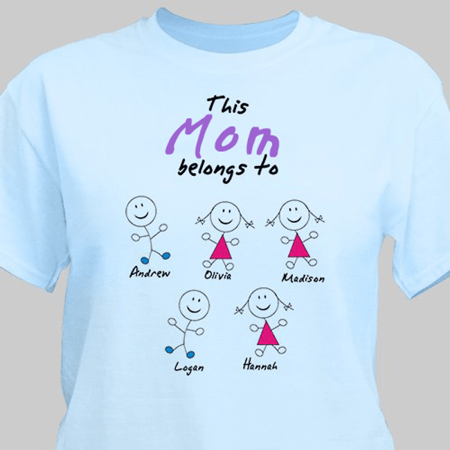 Personalized T-Shirt - (You insert name) Belongs To