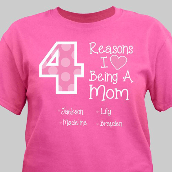 "Reasons I Love Being A...(you fill in the blanks)"" T-Shirt"