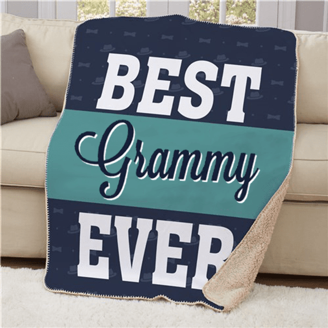 Sherpa for the Best Grandma Ever!