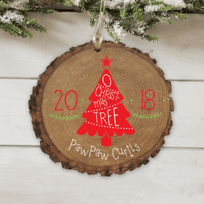 Personalized Christmas Tree Ornament for GrandPa