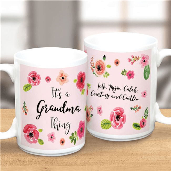 "Personalized Mug ""It's A Grandma Thing"""