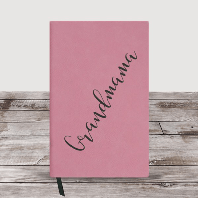Personalized Journal Just for Grandma