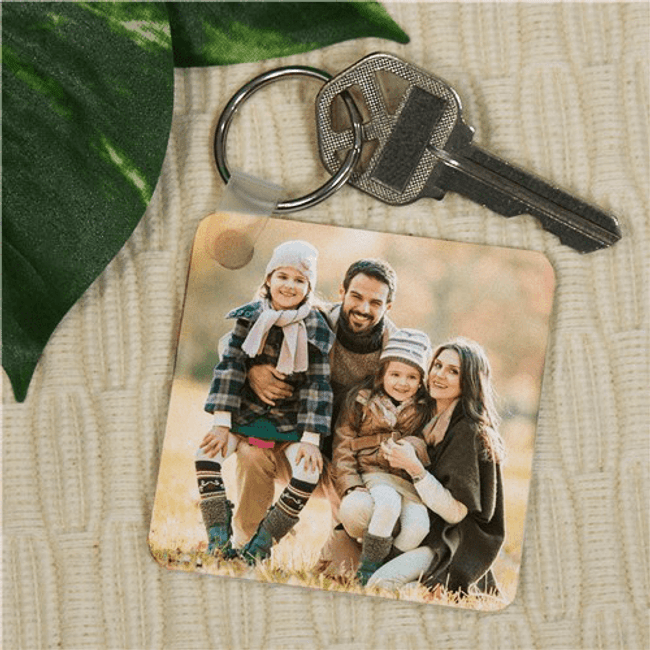 Photo Key Chain for a Proud Grandma will make her smile everytime she looks at it.
