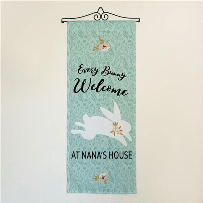 Personalized Easter Wall Hanging for Grandma's Home