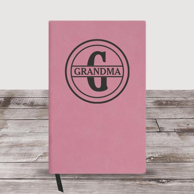 Personalized Monogram Journal for Grandma