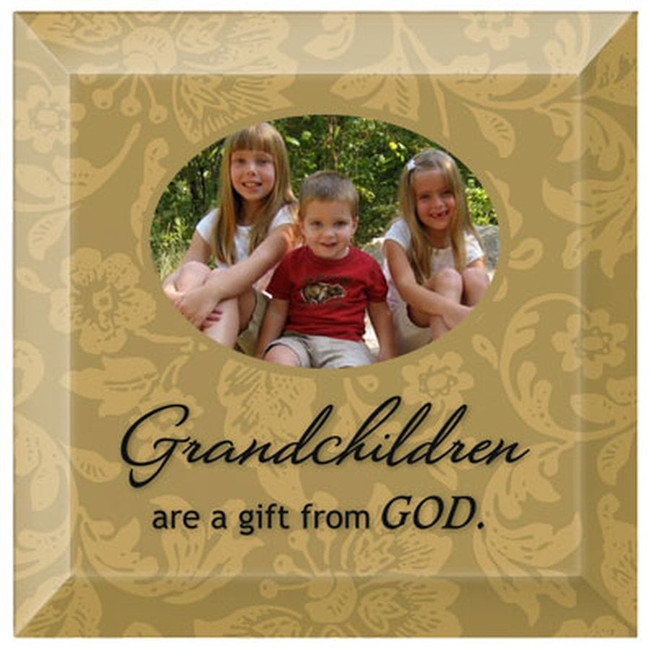 Grandchildren are a Gift From God Frame