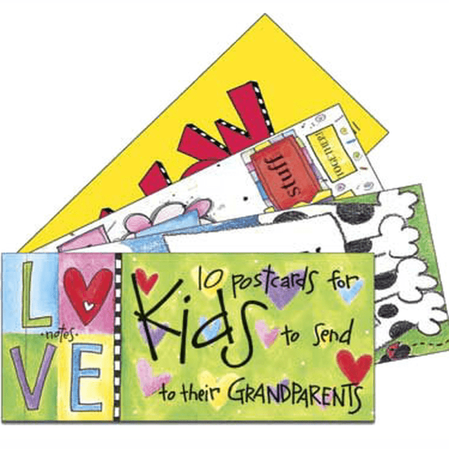 Postcards for grandkids to send to their Grandparents