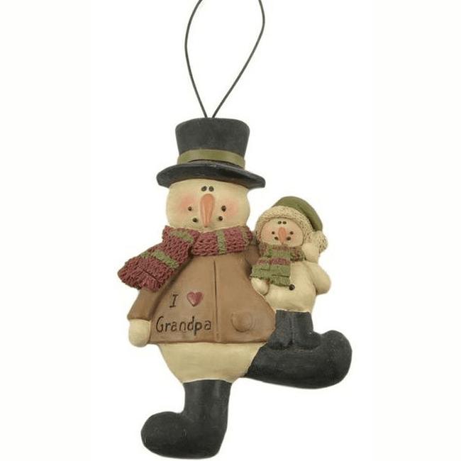 I Love Grandpa Ornament.